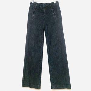 LOFT Navy Trouser Jean